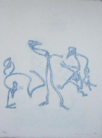 Литография Ernst - Lewis Carroll's Wunderhorn 2