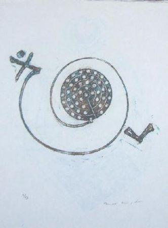 Литография Ernst - Lewis Carroll's Wunderhorn 30