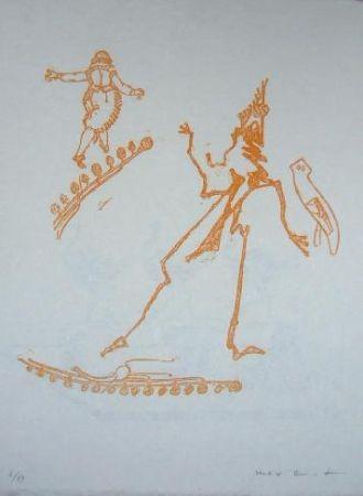 Литография Ernst - Lewis Carroll's Wunderland 15