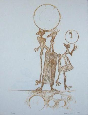 Литография Ernst - Lewis Carrol's Wunderhorn 18