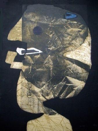 Офорт И Аквитанта Clavé - L'homme À La Pipe