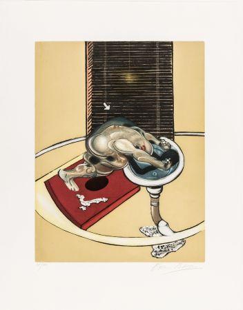 Офорт И Аквитанта Bacon - L'homme au lavabo