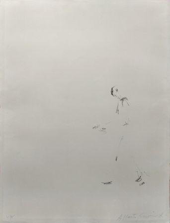 Литография Giacometti - L'homme Qui Marche