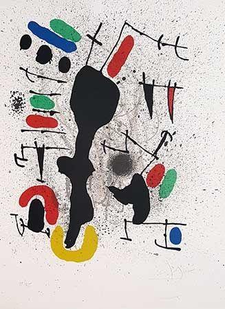Литография Miró - Liberté Des Libertés