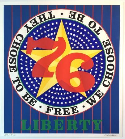 Сериграфия Indiana - Liberty '76