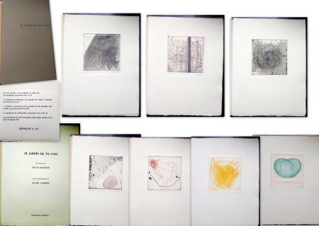 Иллюстрированная Книга Corbero - Libro de Artista - El jardín de tu casa
