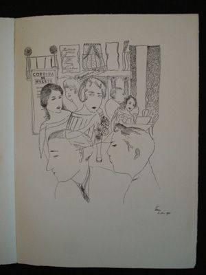 Иллюстрированная Книга Sima - Lidé z baru