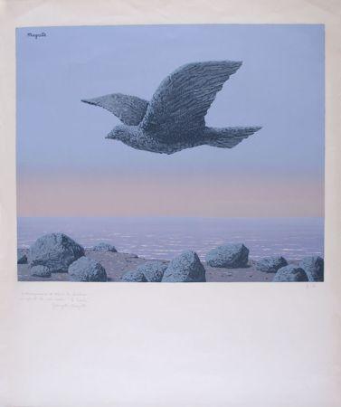 Литография Magritte - L'Idole - Rock Bird