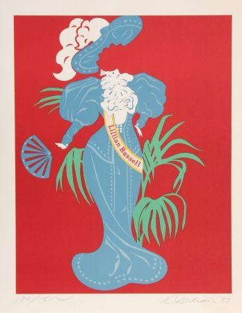 Литография Indiana - Lillian Russell