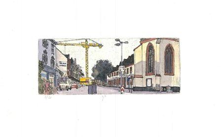 Офорт И Аквитанта Panzner - Limburg