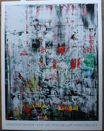 Нет Никаких Технических Richter - Lincoln Center Poster ed 500