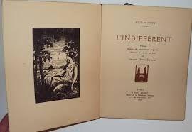 Иллюстрированная Книга Simon-Barboux - L'indifférent