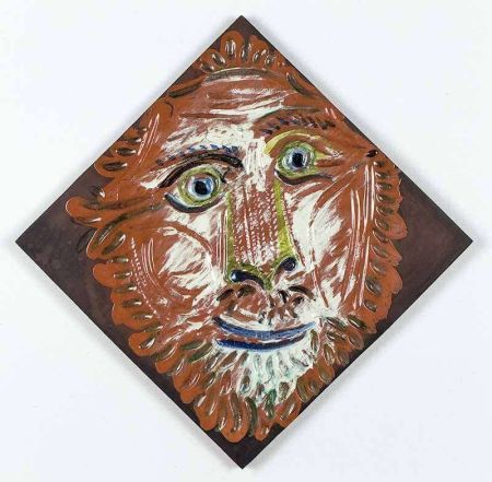 Керамика Picasso - Lion'S Head, 1968-1969