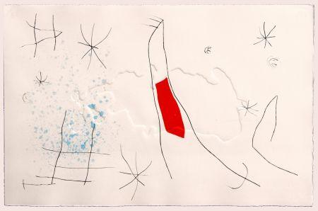 Гравюра Сухой Иглой Miró - L'issue dérobée