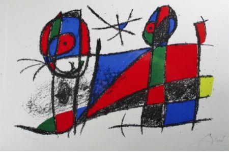 Литография Miró - Lithograph Vi From Vol. Ii