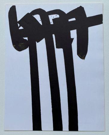 Литография Soulages - Lithographie 28