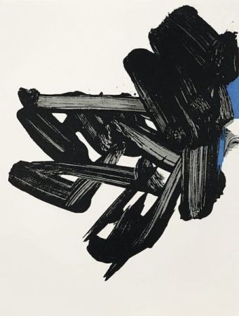 Литография Soulages - Lithographie n°17