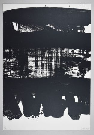 Литография Soulages - Lithographie n°21