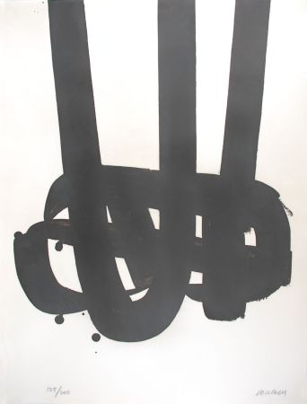 Литография Soulages - Lithographie n°29