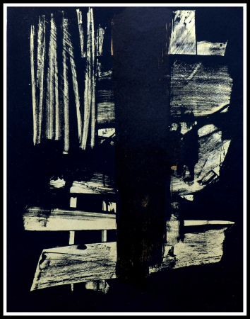 Нет Никаких Технических Soulages - Lithographie N°9