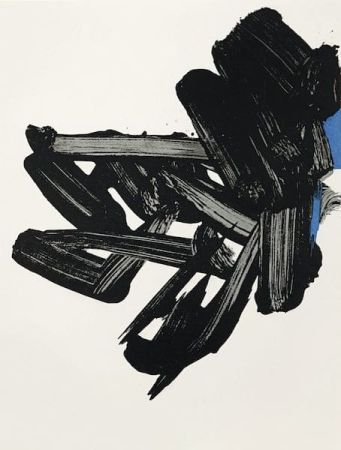 Литография Soulages - Lithographie n° 17