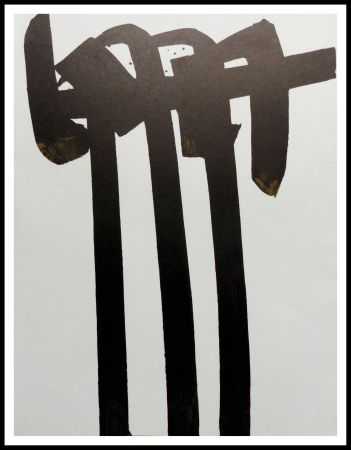 Литография Soulages - LITHOGRAPHIE N° 28