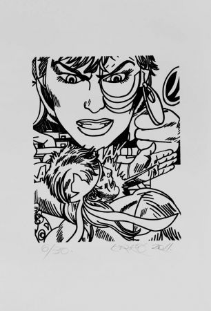 Литография Erro - Lithographie Originale / Original Lithograph