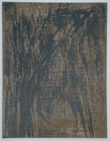 Литография Vieira Da Silva - Lithographie pour XXe Siècle, 1962