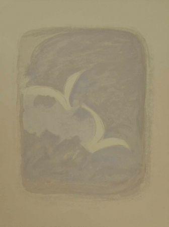 """Литография Braque - Litografia a colori tratta dal volume """"Descente aux enfers"""