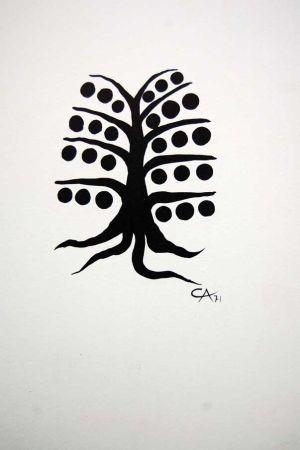 Литография Calder - Litografia Original Derriere Le Miroir - 1971