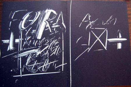 Литография Tapies - Litografia Original Derriere Le Miroir - 1974