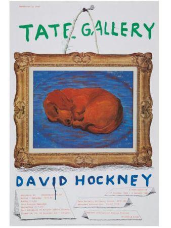 Афиша Hockney - Little Stanley Sleeping Tate Gallery