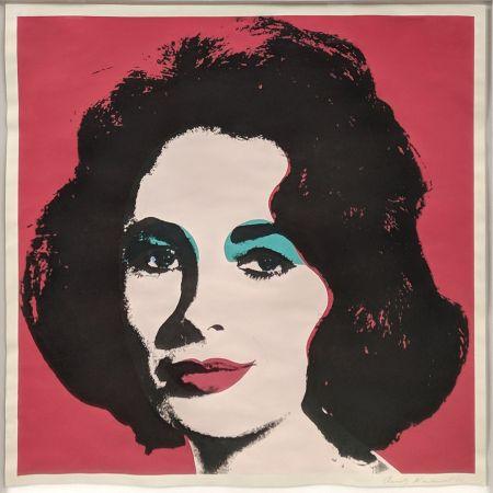 Литография Warhol - LIZ FS II.7