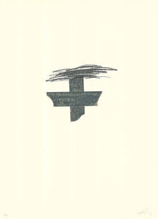 Литография Tàpies - Llambrec-1