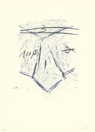 Литография Tàpies - Llambrec-12