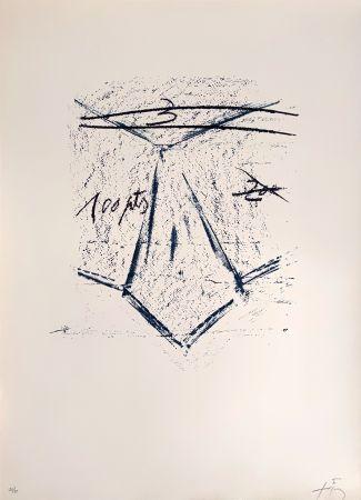 Литография Tàpies - Llambrec 12