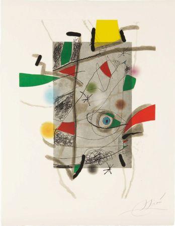 Офорт И Аквитанта Miró - Llibre dels sis Sentis, III