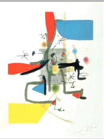 Офорт И Аквитанта Miró - Llibre Dels Sis Sentits I
