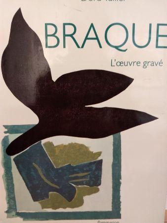 Иллюстрированная Книга Braque - L'oeuvre gravé