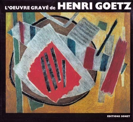 Иллюстрированная Книга Goetz - L´oeuvre gravé de Henri Goetz