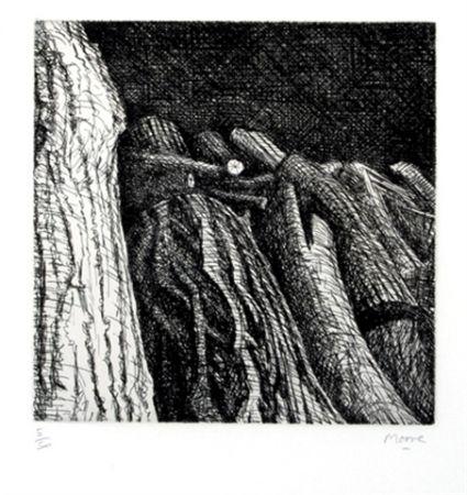Гравюра Moore - Log Pile II