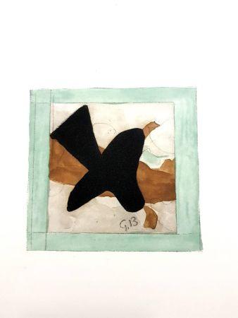 Литография Braque - L'oiseau