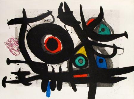 Гравюра Miró - L'oiseau Destructeur