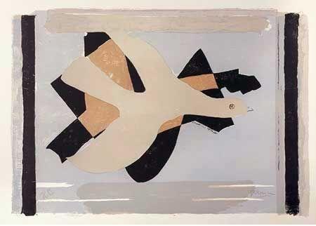 Литография Braque - L'oiseau Est Son Nombre