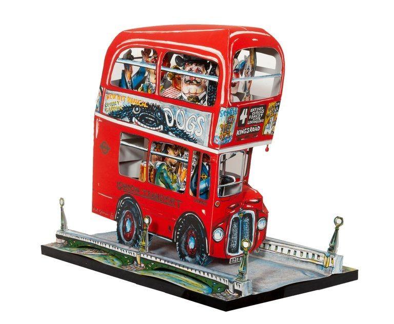 Литография Grooms - London Bus
