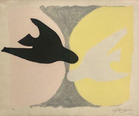 Офорт И Аквитанта Braque - L'ordre des oiseaux