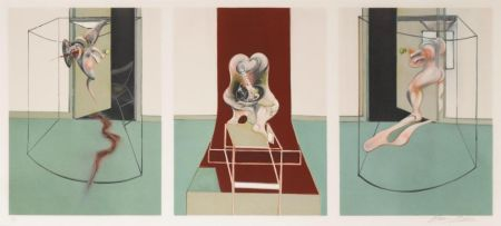 Литография Bacon - L'Orestie d'Eschyle (After Triptych inspired by the Oresteia of Aeschylus)