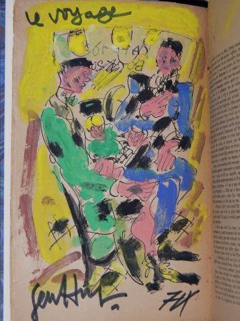Иллюстрированная Книга Paul  -  Louis-Ferdinand Céline - VOYAGE AU BOUT DE LA NUIT - Gouache