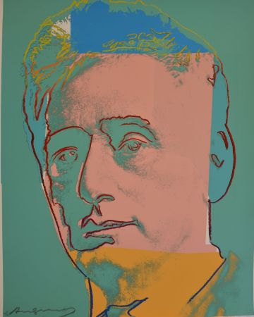 Сериграфия Warhol - Louis Brandeis (FS II.230) Trial Proof