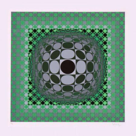 Многоэкземплярное Произведение Vasarely - Louisiana II,